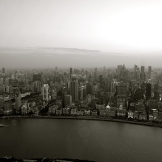 The View from the Oriental Pearl Tower across the Huangpu River