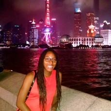 Me at the bund!